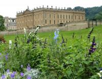Chatsworth House from the Chatsworth flower show.