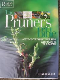Book cover of The Pruner's Bible by Steve Bradley