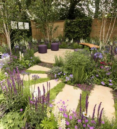 RHS Hampton Court 2015 - The Wellbeing of Women Garden