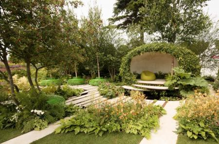 RHS Hampton Court 2015 - The Macmillan Legacy Garden