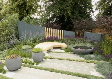 RHS Hampton Court 2015 - The Living Landscapes: Healing Urban Garden