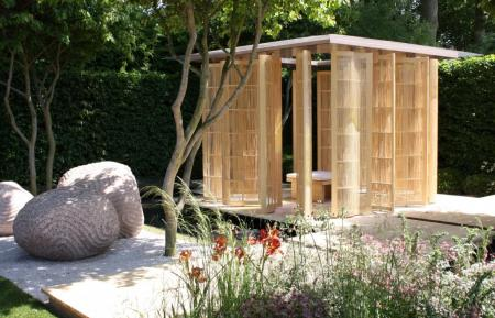 RHS Chelsea 2011 - The Laurent-Perrier Garden - Nature & Human Intervention