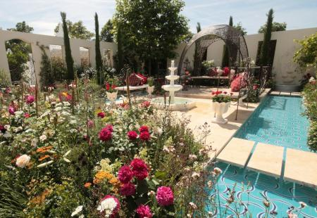 RHS Hampton Court 2015 - The Turkish Ministry of Culture & Tourism: Garden of Paradise