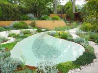 The Dubai Majlis Garden at the RHS Chelsea Flower Show 2019