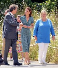 The Duchess of Cambridge at the 2019 RHS Hampton Court flower show.